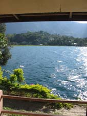 View from Batak house at Reggae Guesthouse