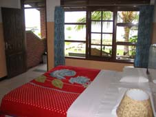 Inside room of Samosir Cottages